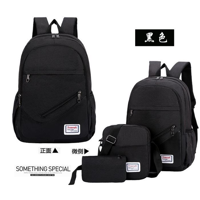 JT275 (3IN1) IDR.145.000 MATERIAL OXFORD SIZE L32XH46XW15CM WEIGHT 600GR COLOR BLACK