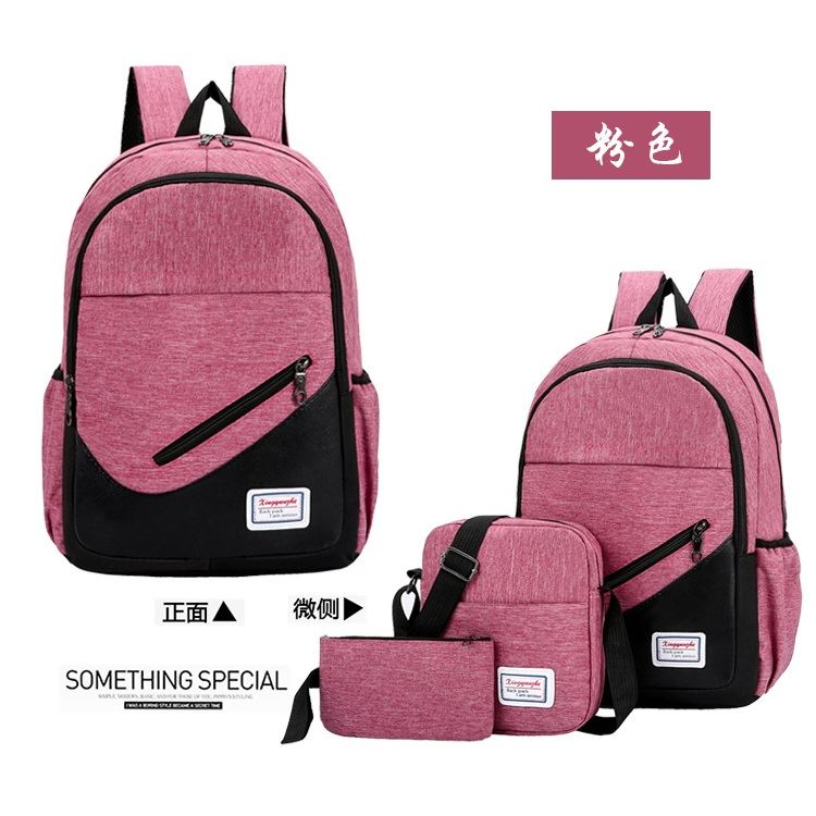 JT275 (3IN1) IDR.153.000 MATERIAL OXFORD SIZE L32XH46XW15CM WEIGHT 600GR COLOR PINK