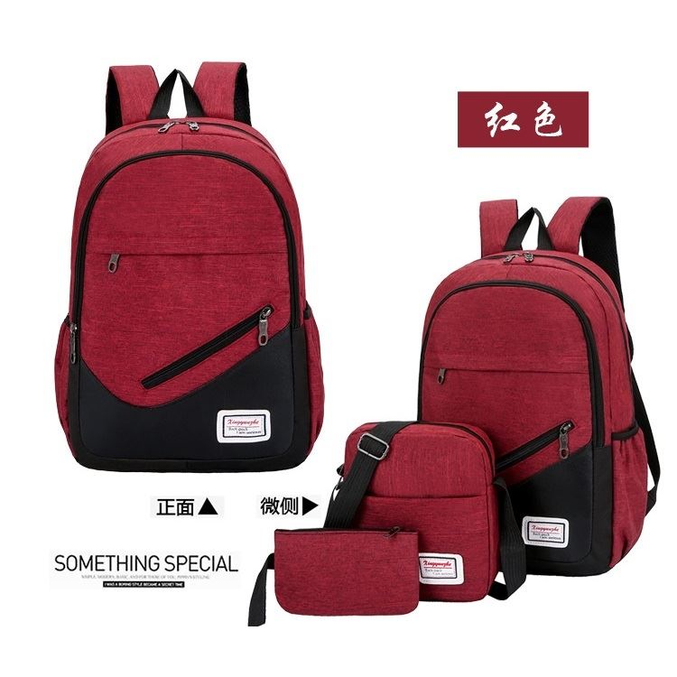 JT275 (3IN1) IDR.155.000 MATERIAL OXFORD SIZE L32XH46XW15CM WEIGHT 600GR COLOR RED