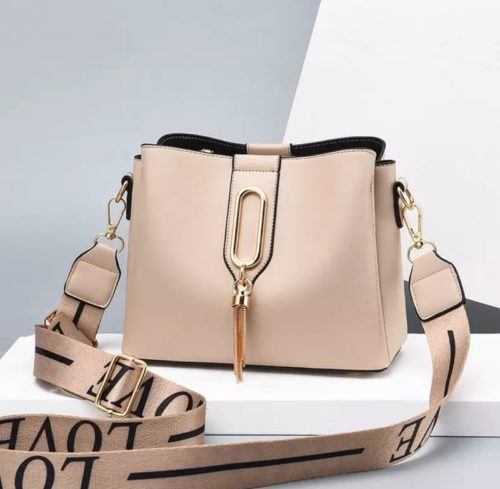 JT28090-khaki Tas Selempang Fashion Wanita Cantik Import Terbaru