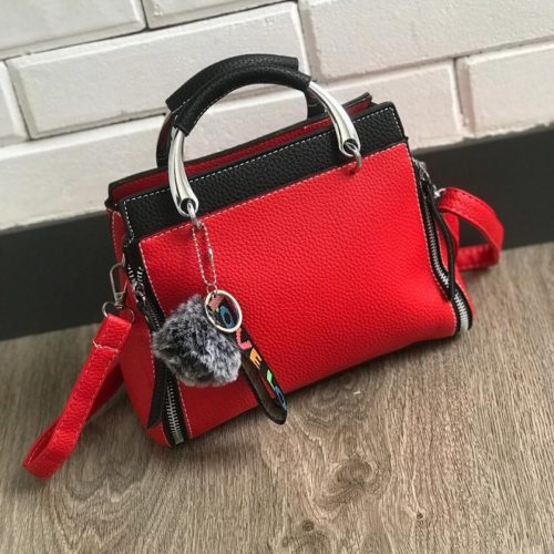 JT2810 MATERIAL PU SIZE L25XH20XW12CM WEIGHT 800GR COLOR BLACKRED