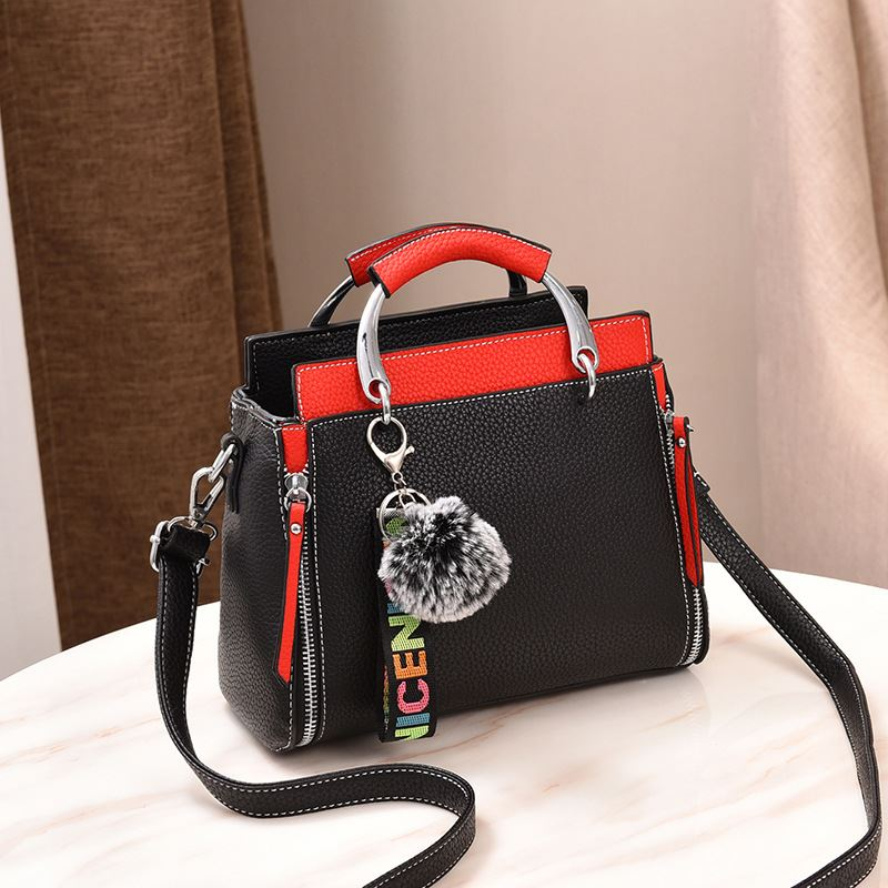 JT2810 IDR.167.0000 MATERIAL PU SIZE L25XH20XW12CM WEIGHT 800GR COLOR BLACKRED
