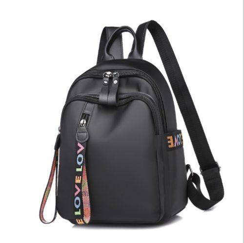 JT285-black Tas Punggung Stylish LOVE Import