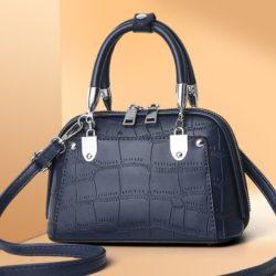 JT28771-blue Tas Handbag Selempang Wanita Elegan Import