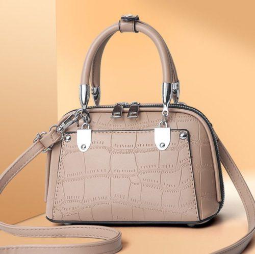 JT28771-khaki Tas Handbag Selempang Wanita Elegan Import