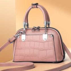 JT28771-pink Tas Handbag Selempang Wanita Elegan Import