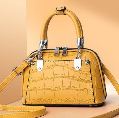JT28771-yellow Tas Handbag Selempang Wanita Elegan Import