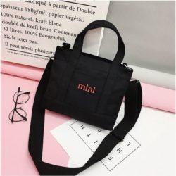 JT29871-black Tote Bag Stylish Kekinian Import