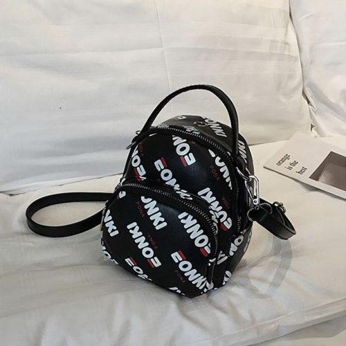 JT3017-black Tas Selempang Mini Stylish Kekinian Import