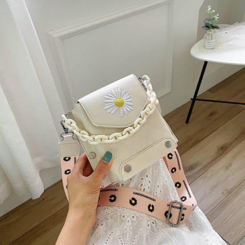 JT30340-beige Tas Selempang Handphone Wanita Cantik Import