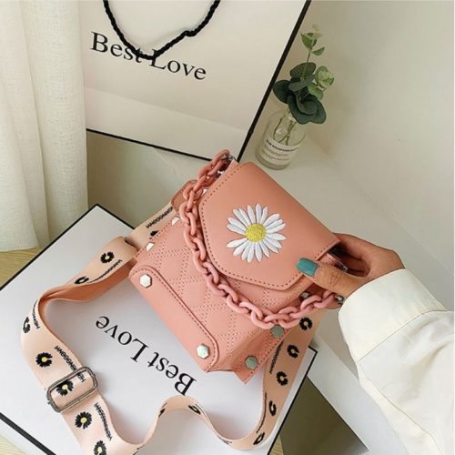 JT30340-pink Tas Selempang Handphone Wanita Cantik Import