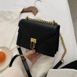 JT30343-black Tas Selempang Elegan Import Wanita Cantik