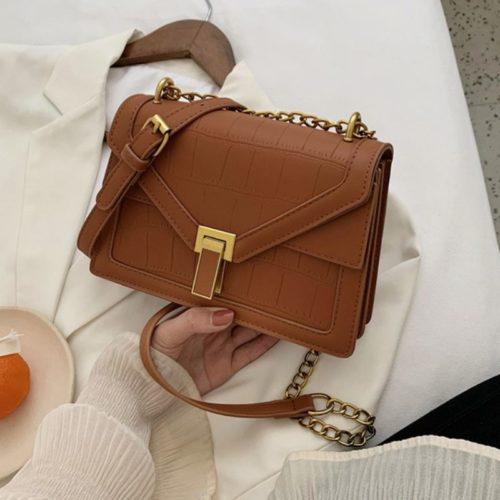 JT30343-brown Tas Selempang Elegan Import Wanita Cantik