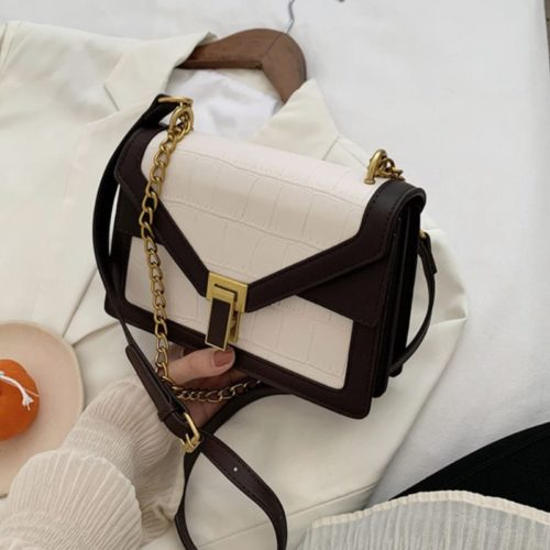 JT30343-white Tas Selempang Elegan Import Wanita Cantik