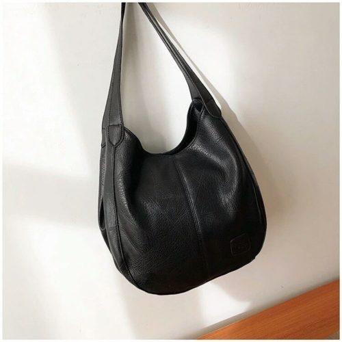 JT30346-black Tas Selempang Shoulder Bag Import Wanita Cantik