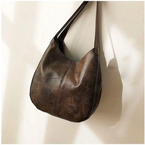 JT30346-coffee Tas Selempang Shoulder Bag Import Wanita Cantik