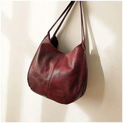 JT30346-red Tas Selempang Shoulder Bag Import Wanita Cantik