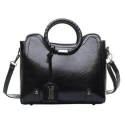 JT30352-black Tas Hand Bag Selempang Wanita Elegan Import