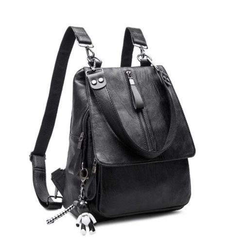 JT3071-black Tas Ransel Fashion Modis Wanita Terbaru