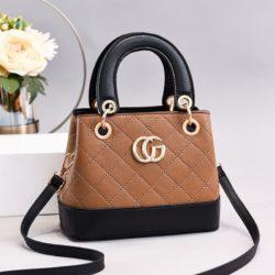 JT3079-khaki Tas Handbag Wanita Elegan Import Terbaru