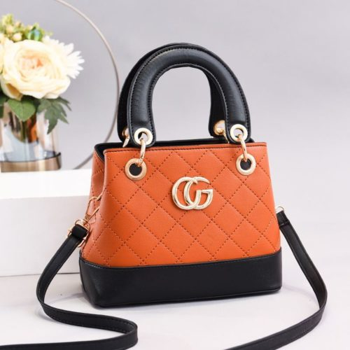 JT3079-orange Tas Handbag Wanita Elegan Import Terbaru