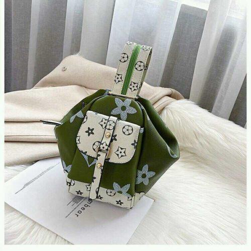 JT31344-green Tas Pingo Selempang Import Bisa Ransel