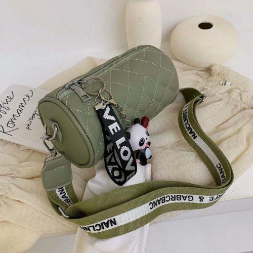 JT3144-green Tas Selempang Love Panda Import Wanita