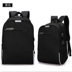 JT321-black  Tas Ransel Laptop Keren Dengan Lock Number Terbaru