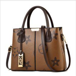 JT3226-brown Tas Selempang Elegan Wanita Cantik Import