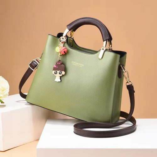 JT328-green Tas Handbag Modis Gantungan Cute Girl Kekinian Import