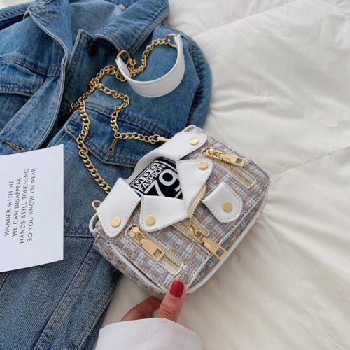 JT33509-white Tas Selempang Modis Wanita Cantik Terbaru Import