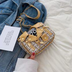 JT33509-yellow Tas Selempang Modis Wanita Cantik Terbaru Import