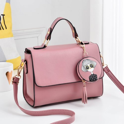 JT337 MATERIAL PU SIZE L24XH18XW11CM WEIGHT 600GR COLOR PINK