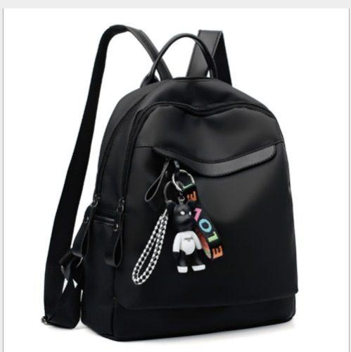 JT3383-black Tas Backpack Fashion Import Wanita