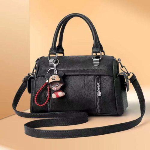 JT33902-black Tas Selempang Wanita Cantik Elegan Gantungan Baby