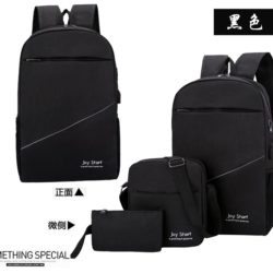 JT3397 (3IN1) IDR.152.000 MATERIAL NYLON SIZE L28XH45XW13CM WEIGHT 600GR COLOR BLACK