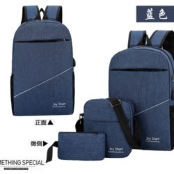 JT3397 (3IN1) IDR.152.000 MATERIAL NYLON SIZE L28XH45XW13CM WEIGHT 600GR COLOR BLUE