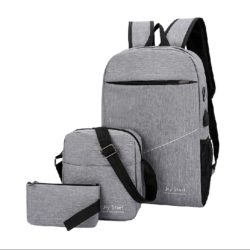 JT3397 (3IN1) IDR.152.000 MATERIAL NYLON SIZE L28XH45XW13CM WEIGHT 600GR COLOR GRAY