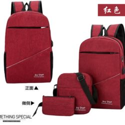 JT3397 (3IN1) IDR.152.000 MATERIAL NYLON SIZE L28XH45XW13CM WEIGHT 600GR COLOR RED