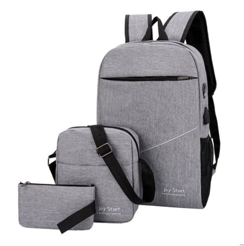 JT3397 IDR.165.000  MATERIAL NYLON SIZE L28XH45XW13CM WEIGHT 600GR (3IN1) C`OLOR GRAY