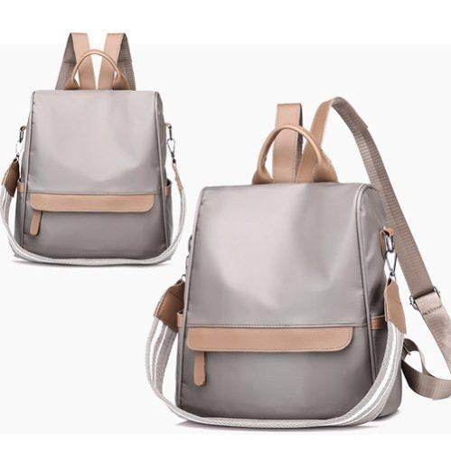 JT3434-gray Tas Backpack Stylish Import Wanita Cantik