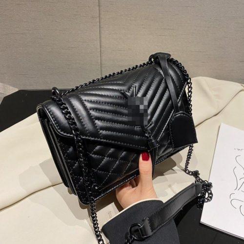 JT34461-black Tas Selempang Import Wanita Cantik Terbaru