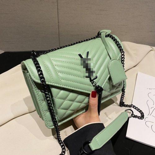 JT34461-green Tas Selempang Import Wanita Cantik Terbaru