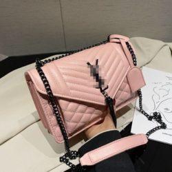 JT34461-pink Tas Selempang Import Wanita Cantik Terbaru