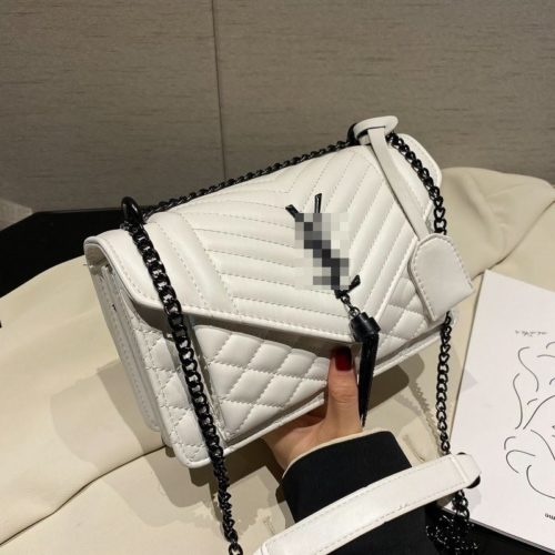 JT34461-white Tas Selempang Import Wanita Cantik Terbaru