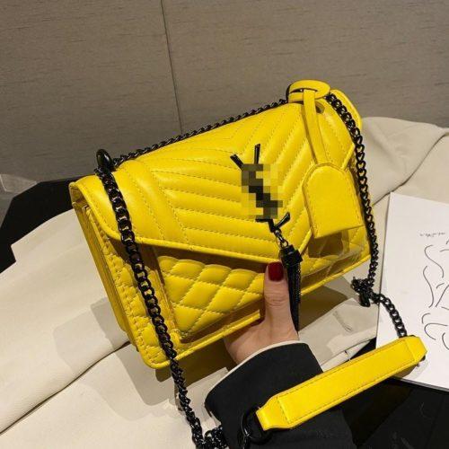 JT34461-yellow Tas Selempang Import Wanita Cantik Terbaru