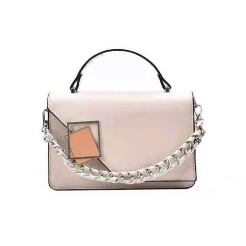 JT34462-beige Tas Handbag Wanita Cantik Import Elegan