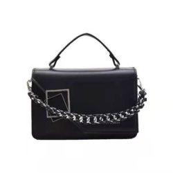 JT34462-black Tas Handbag Wanita Cantik Import Elegan