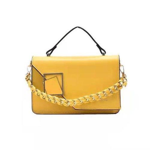 JT34462-yellow Tas Handbag Wanita Cantik Import Elegan