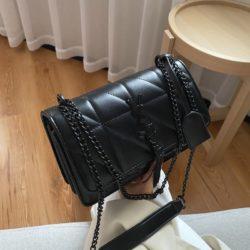 JT34463-black Tas Selempang Wanita Cantik Import Keren